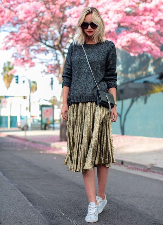 Resultado de imagem para lurex looks fashion