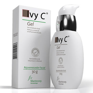 Esse gelzinho da Ivy C hidrata a pele e é um anti idade leve! Ótimo para uso diário!